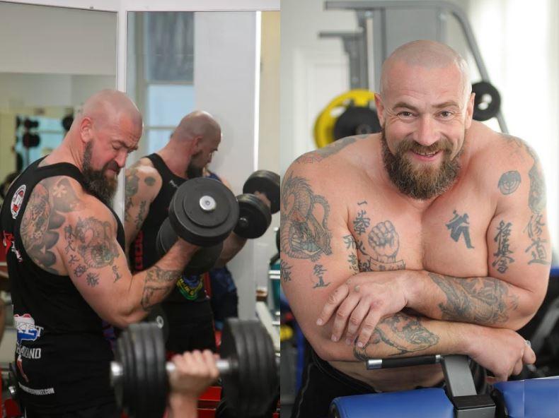 Тренировка Сергея Бадюка