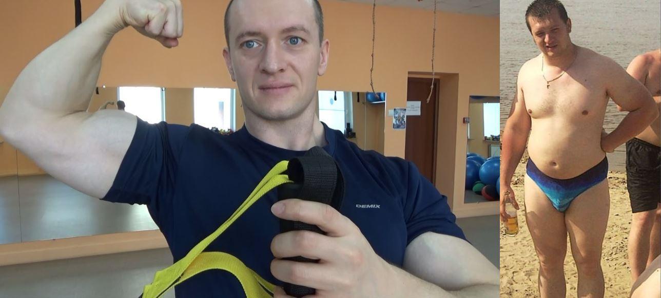 Александр Добромиль тренировка