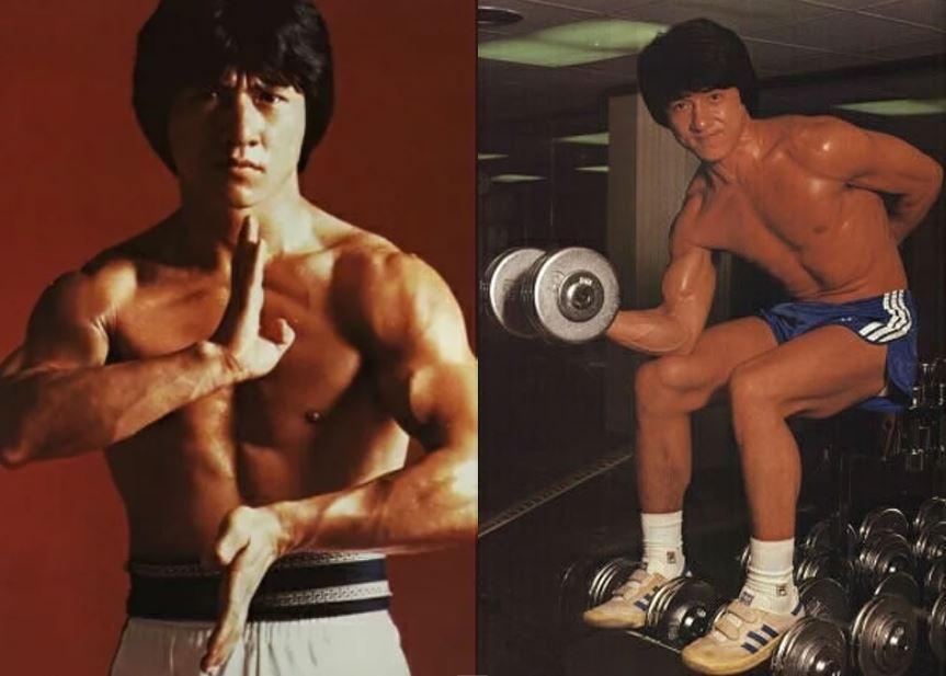 Тренировки Джеки Чана