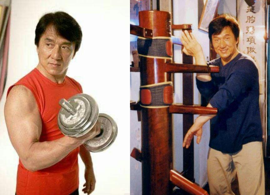 Джеки Чан тренировки