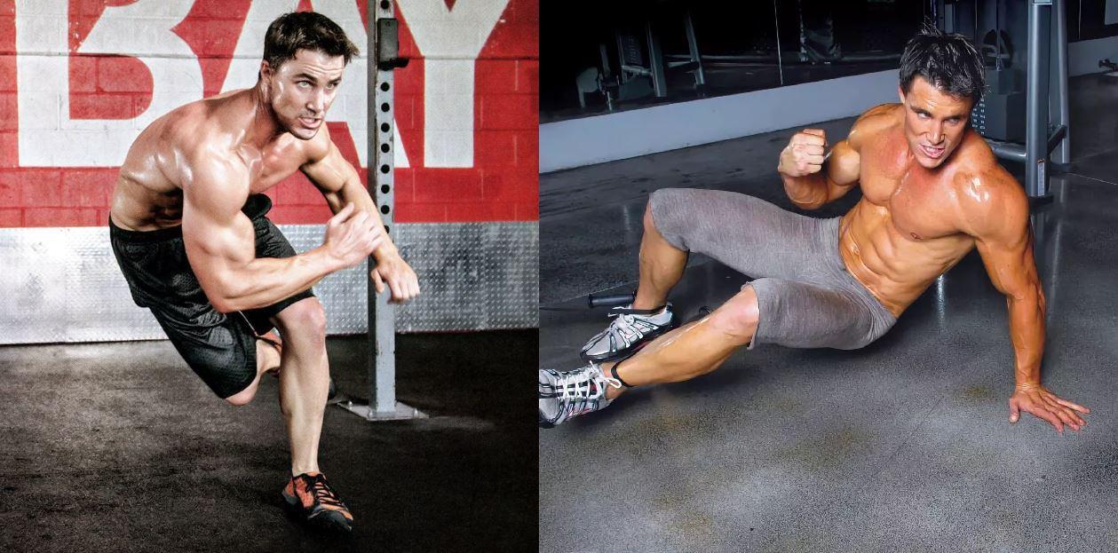 Тренировка ног Грега Плитта