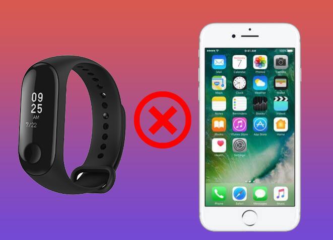 Почему фитнес бБраслет Xiaomi Mi Band 3 не подключается к телефону / отключается от телефона?