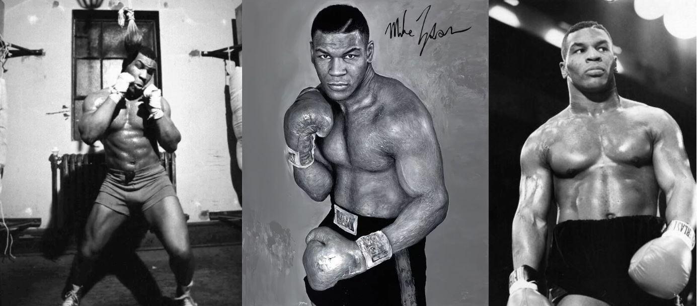 Тренировки боксера Майка Тайсона