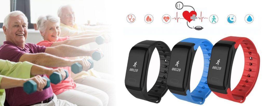 Фитнес-браслет для пожилых людей