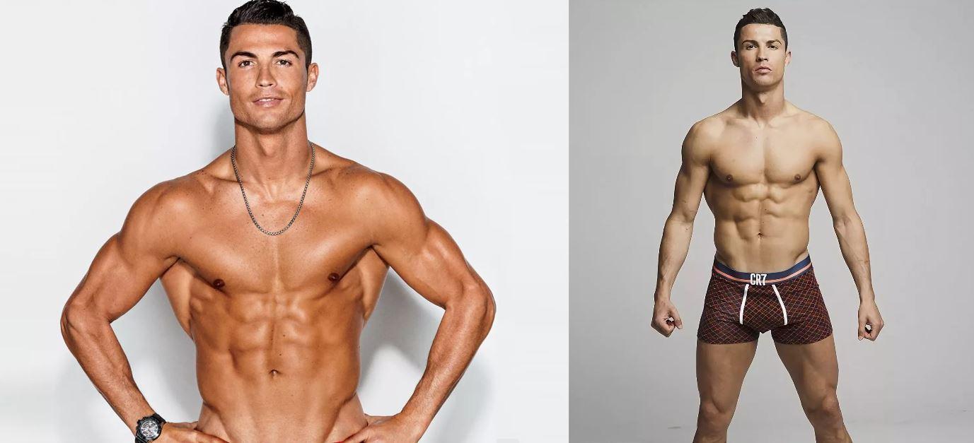 физическая форма Криштиану Роналду