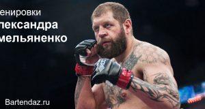 Тренировки Александра Емельяненко