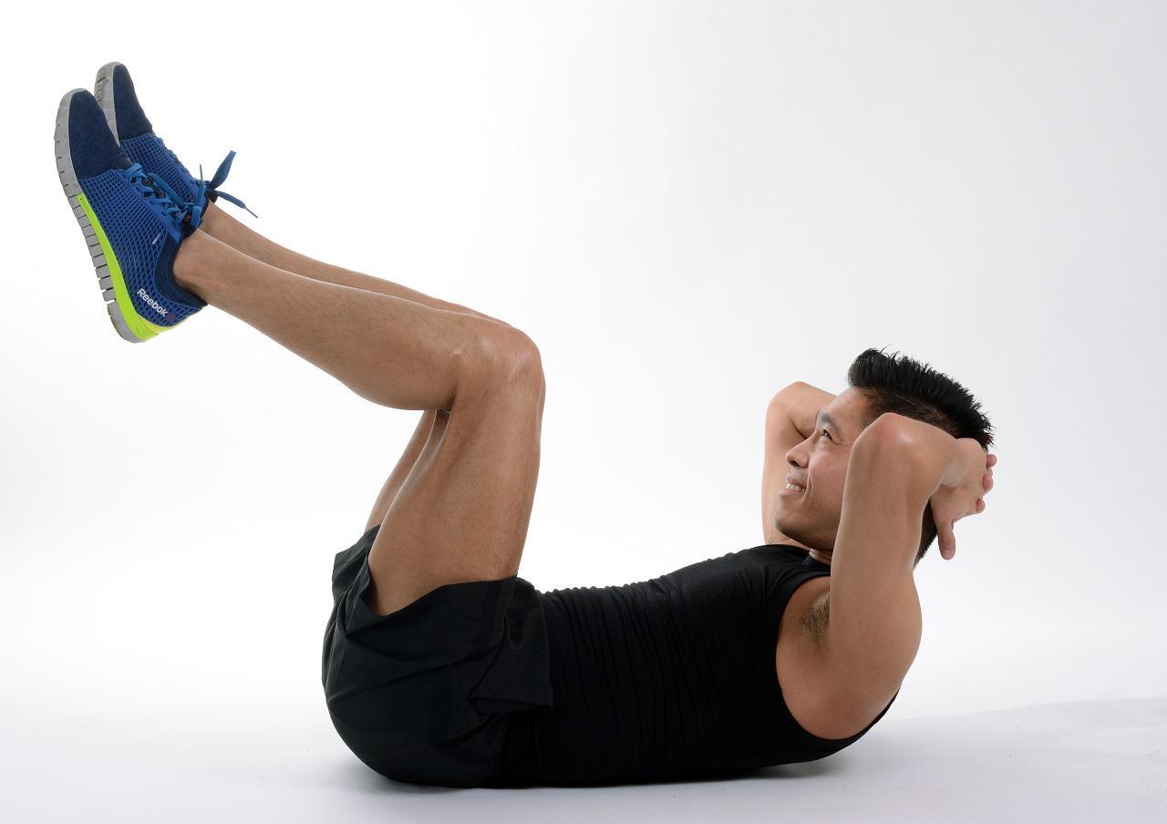 Упражнения для живота.