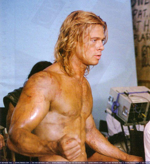 Naked photos of brad pitt