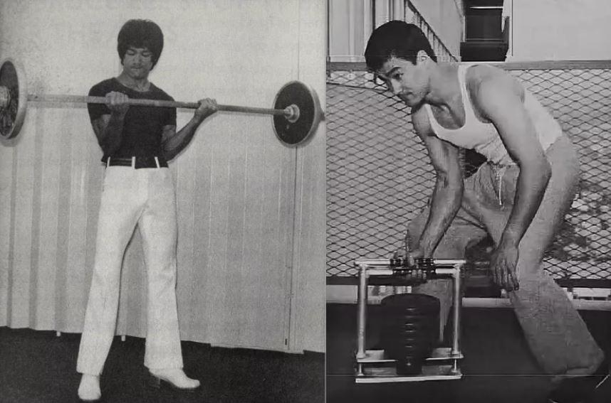 Физическая подготовка Брюса Ли. Силовые тренировки