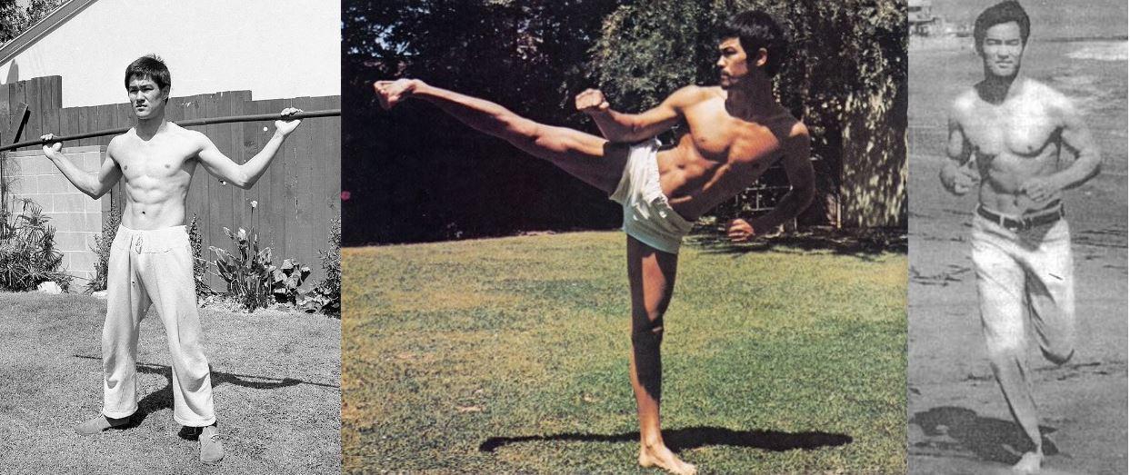 Физическая подготовка Брюса Ли. Тренировки