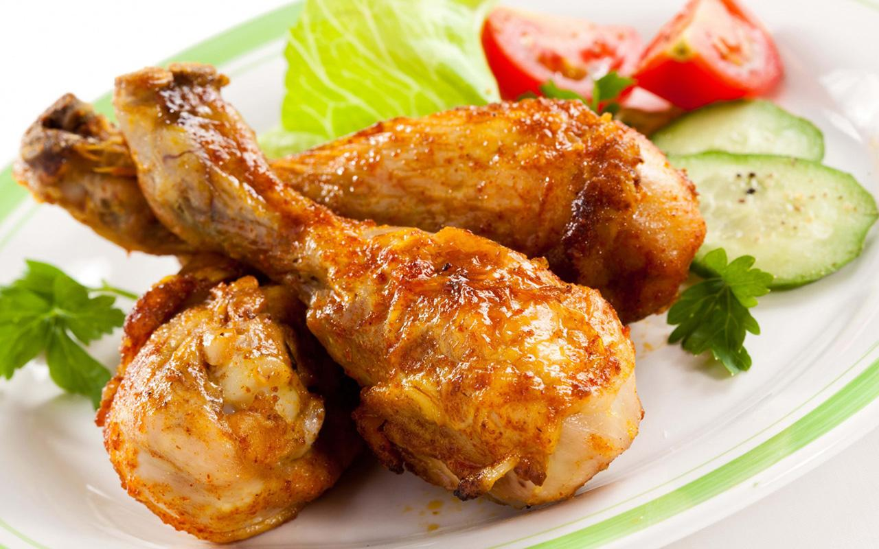Курица. Продукты для роста мышц
