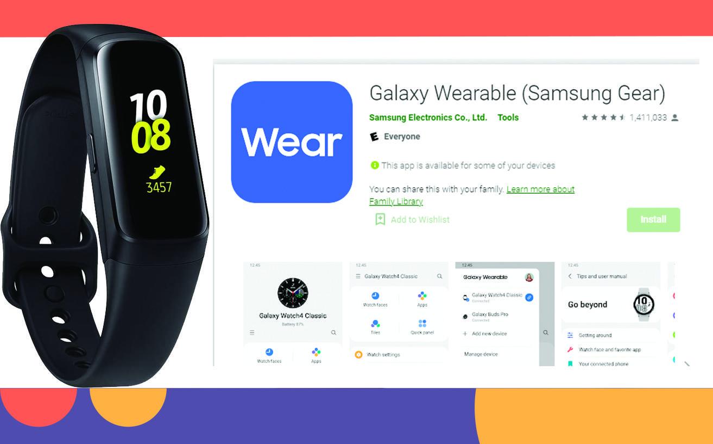 Приложение для браслета Samsung Galaxy Fit 2.0