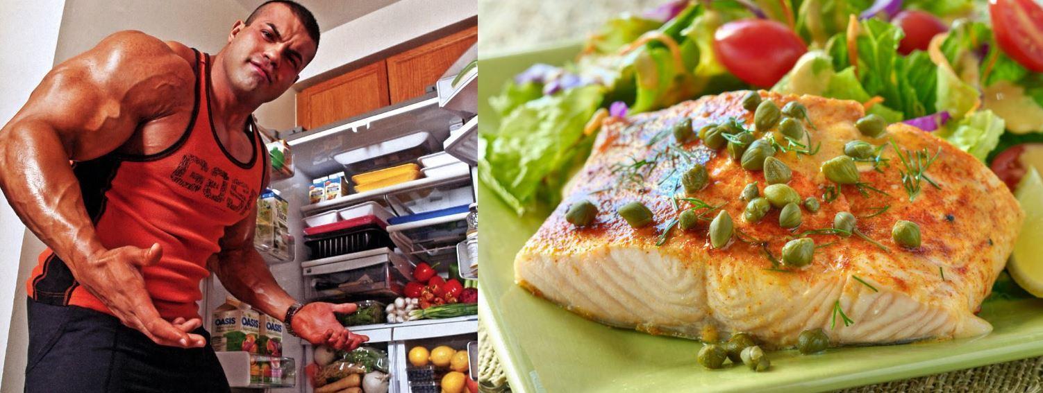Советы для набора мышечной массы. Рыба