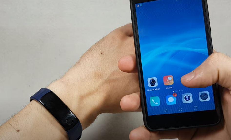 скачать и установить приложение Huawei Wear