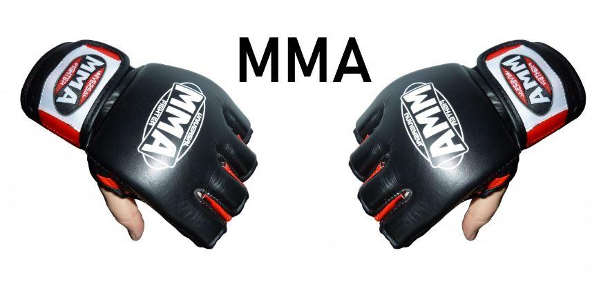 перчатки для MMA