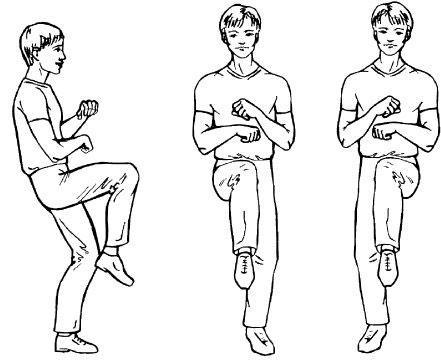 упражнение «Передний шаг»