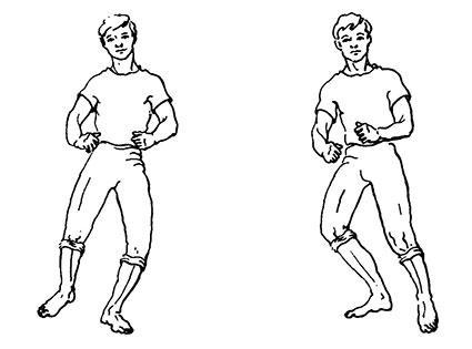 упражнение «Перекат»