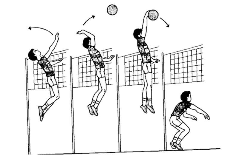 Атака в волейболе