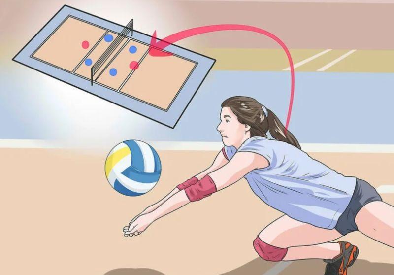 Прием Либеро волейбол