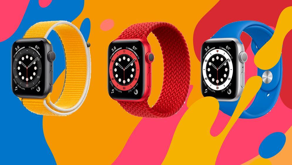 Ремешки Apple Watch 6