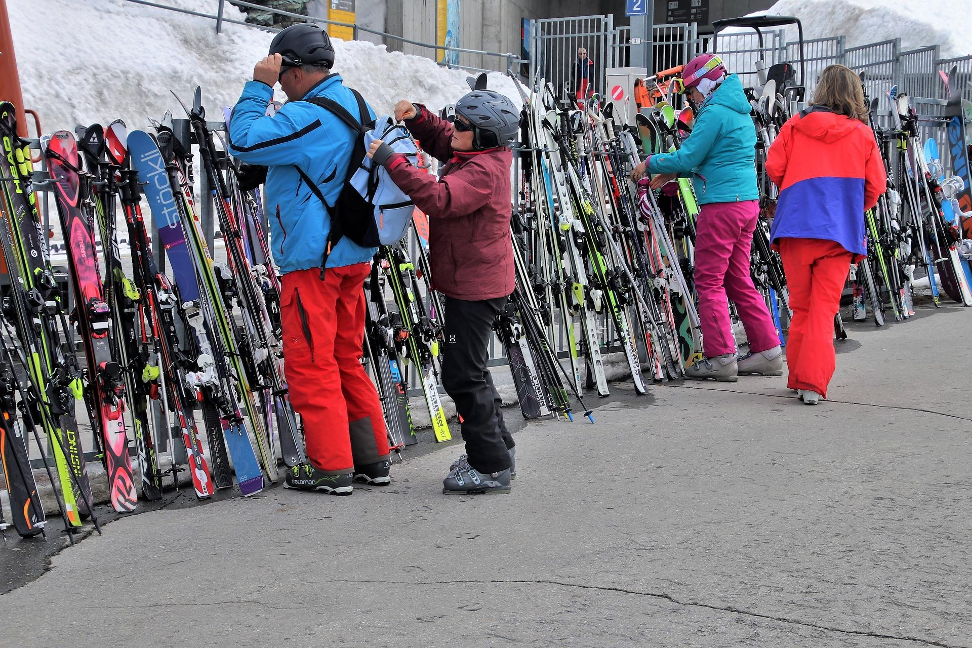 Горные лыжи
