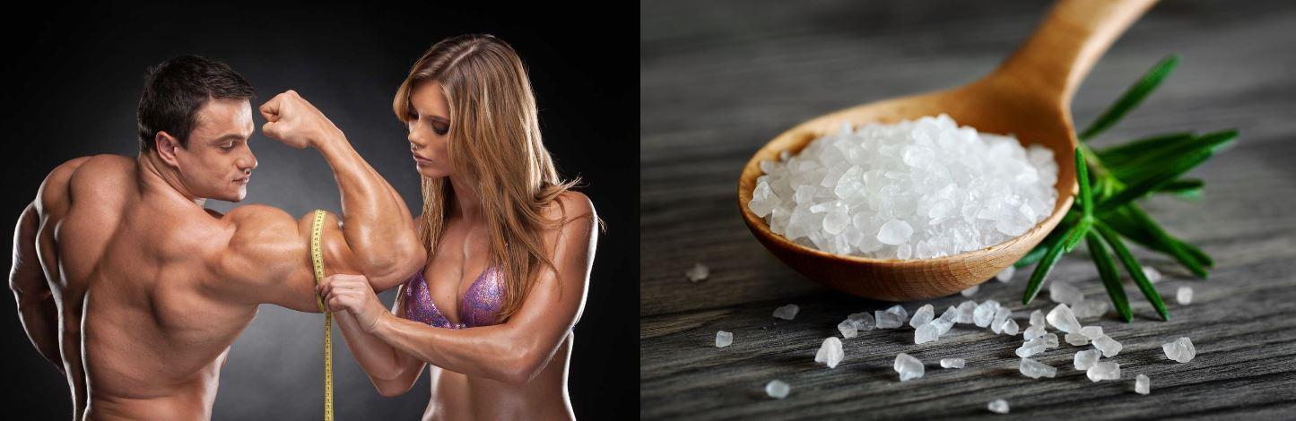 Советы для набора мышечной массы. Соль