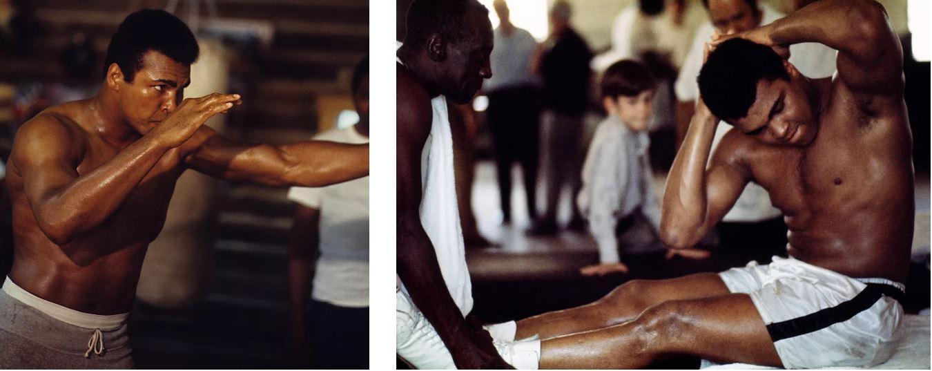 Тренировка Мухаммеда Али
