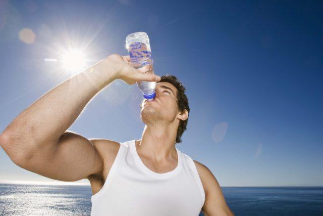 Роль воды в спорте