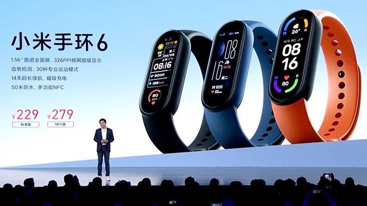 Производитель Xiaomi Mi Band 6